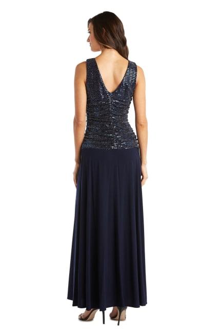 Metallic Long Dress