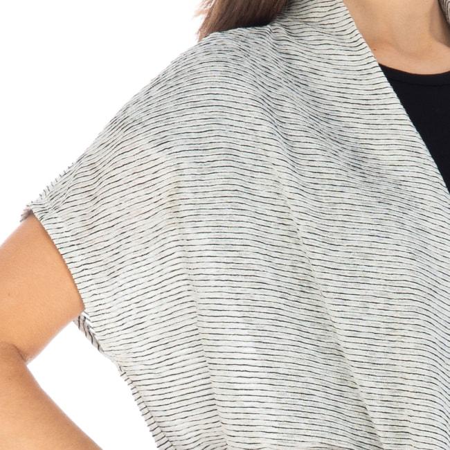 Textured Stripe Cardigan