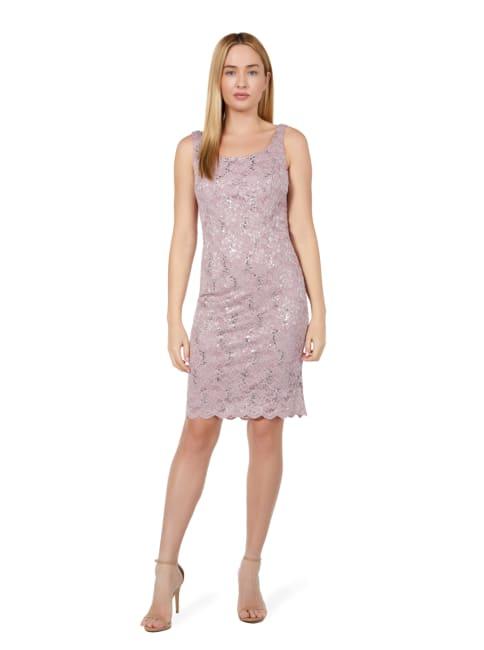 Marina Glitter lace 2 Piece Coat and Dress