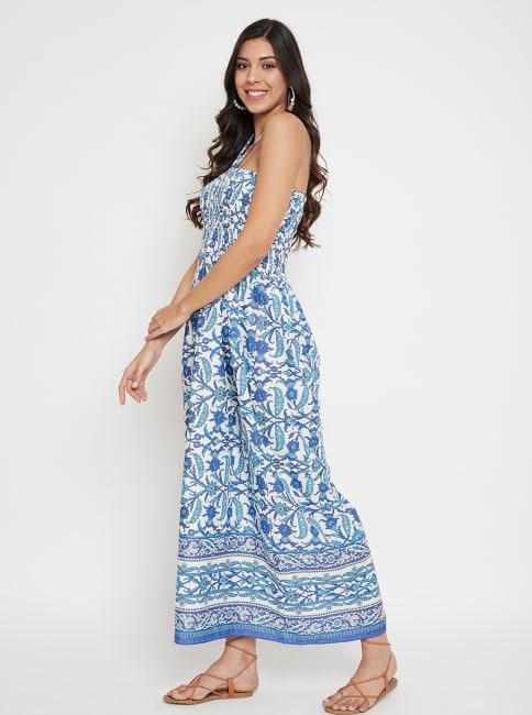 Floral Tube Dress for Women - Plus
