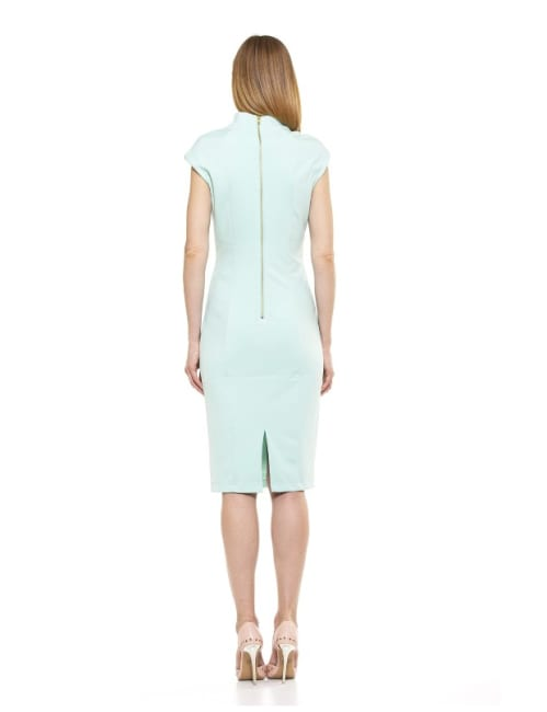 Katrina V Neck Midi Dress