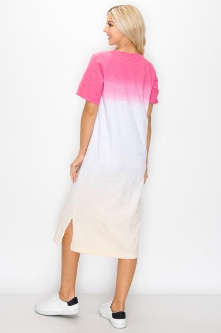 Cait Hand Dip-Dyed Dress