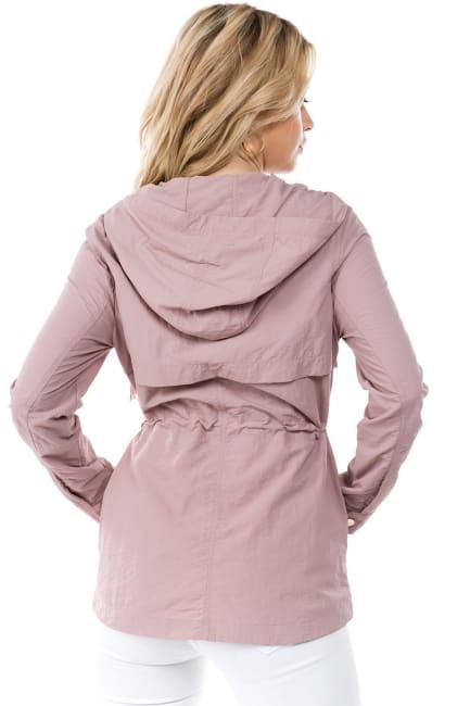 26 International Zipper Nylon Anorak Jacket
