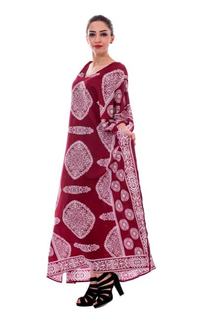 R2 International Polyester Kimono Loose kaftan - Plus