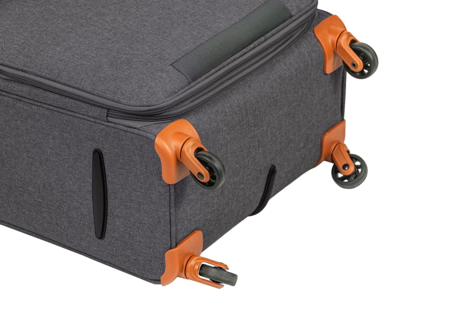 CHAMPS 3-Piece Classic II Ultra Lightweight Soft Side Luggage Set