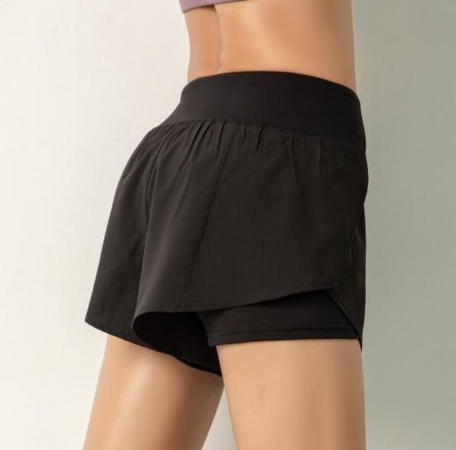 Shorts with Overlay