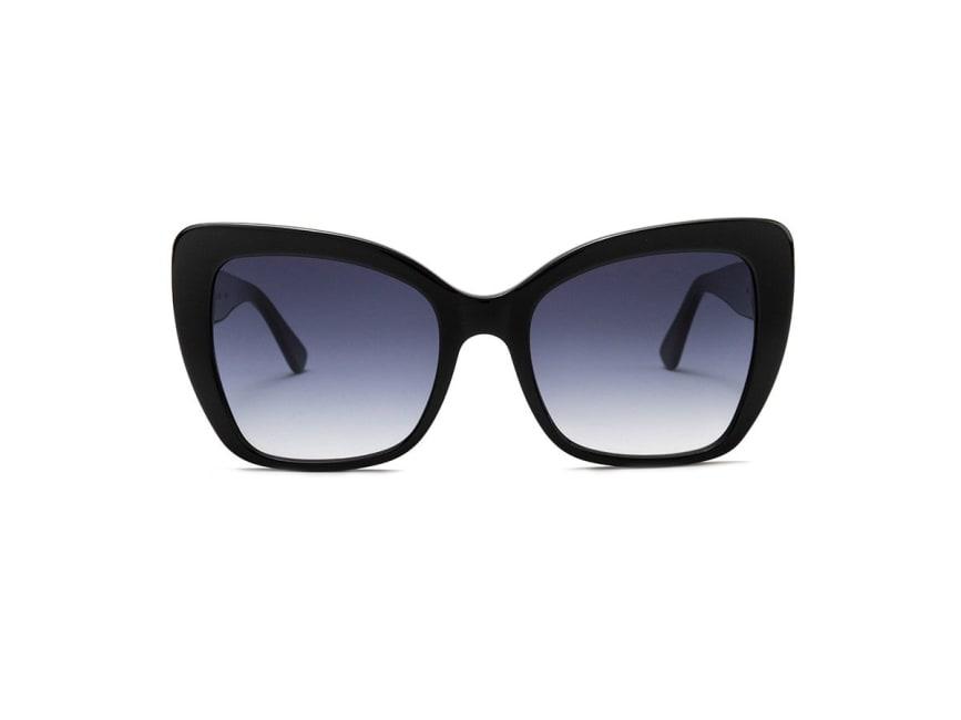 Oversized Cat Eye Honey Sunglasses