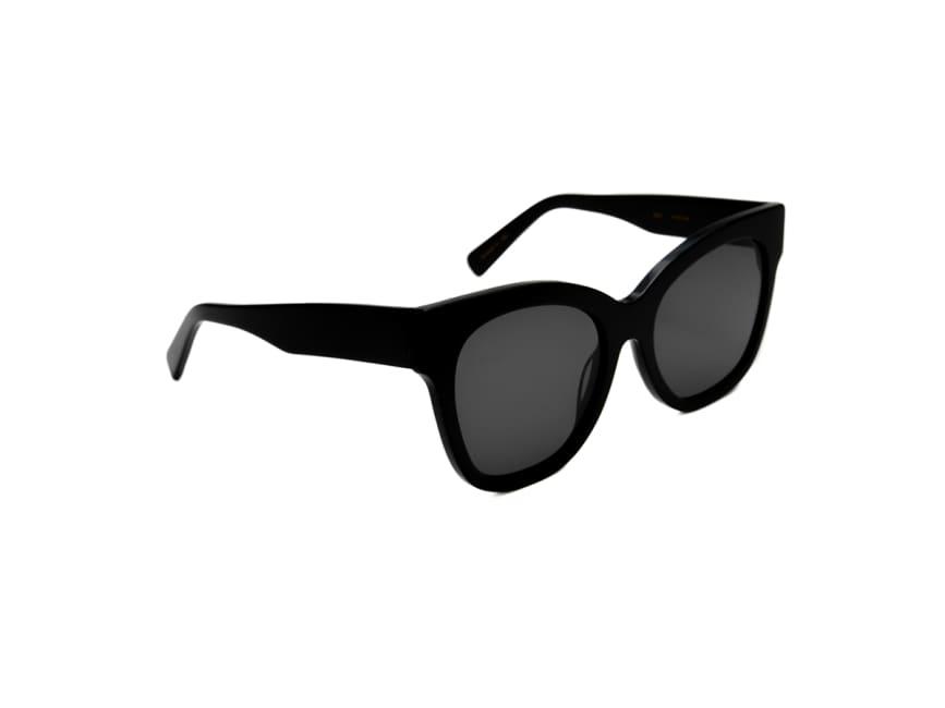 Oversized Fit Hebe Cat-eye Frame Sunglasses