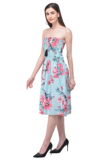 Beach Strapless Dress