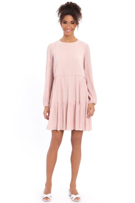 Clara Easy A-line Tiered Popover Dress - Petite