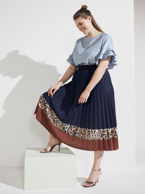 Winsley Animal Print Skirt