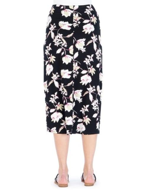 Side Tie Midi Skirt