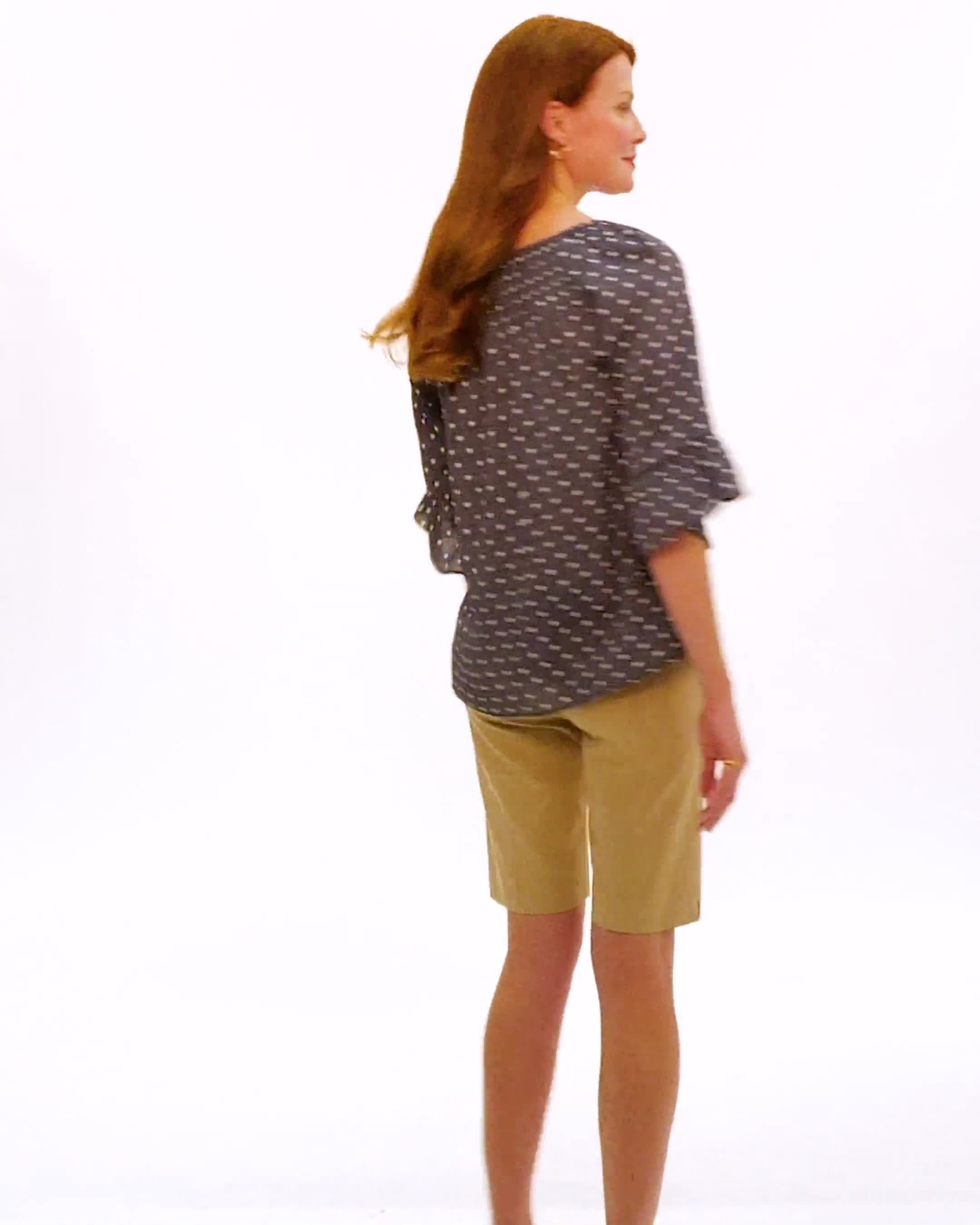 Pull-On Refined Shorts - Video