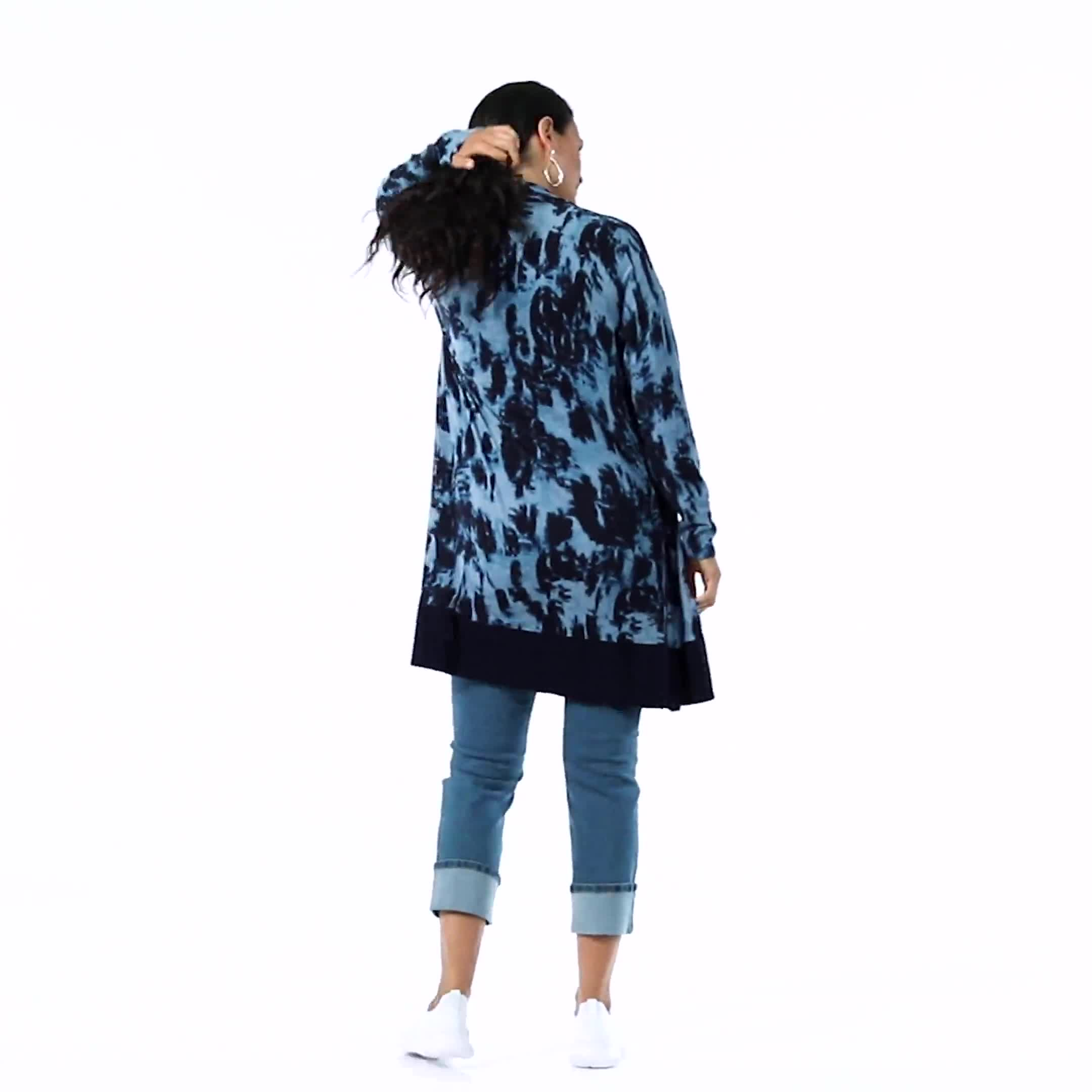 Roz & Ali Tie Dye Duster - Misses - Video