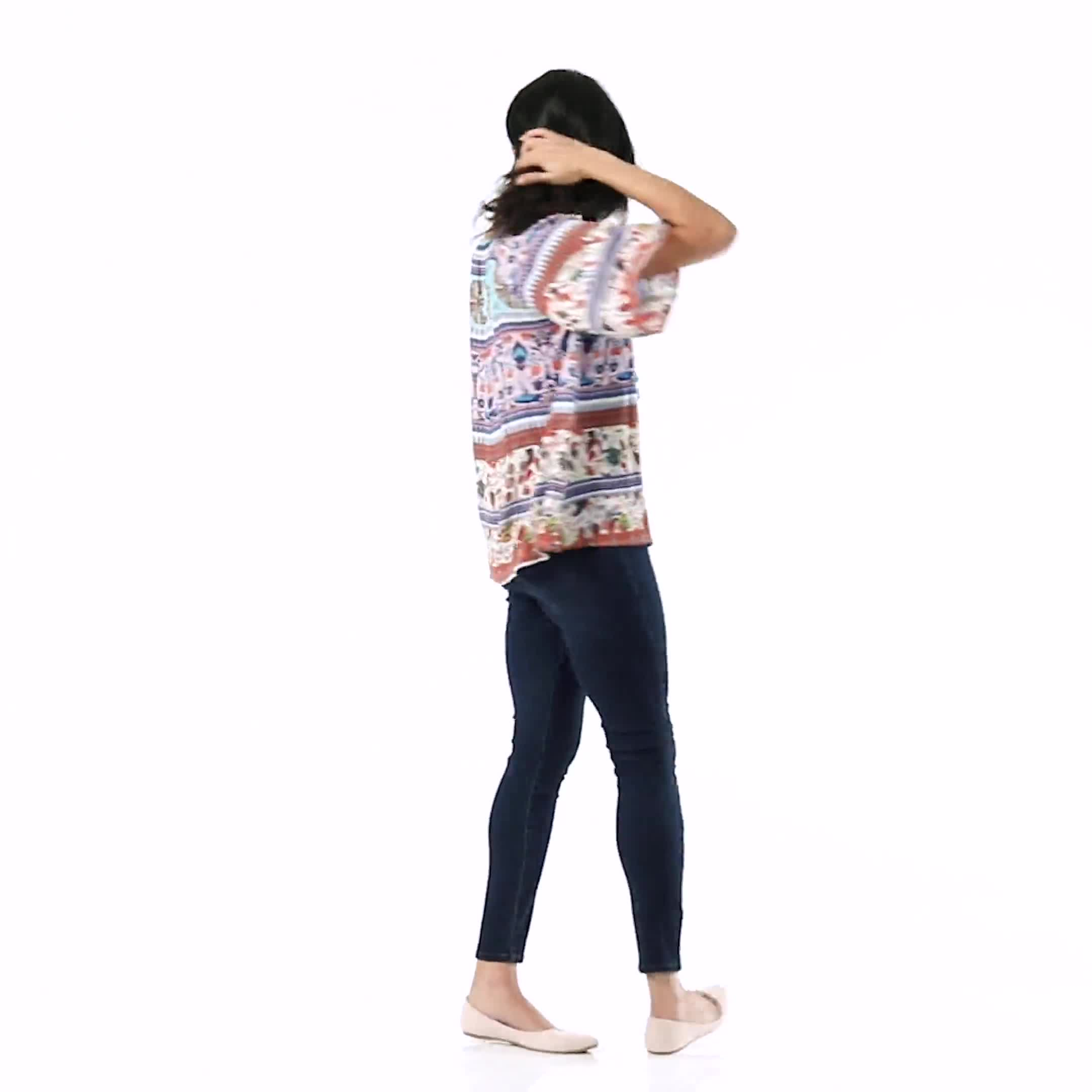 Westport Signature High Rise Pull On Jegging Jean - Video