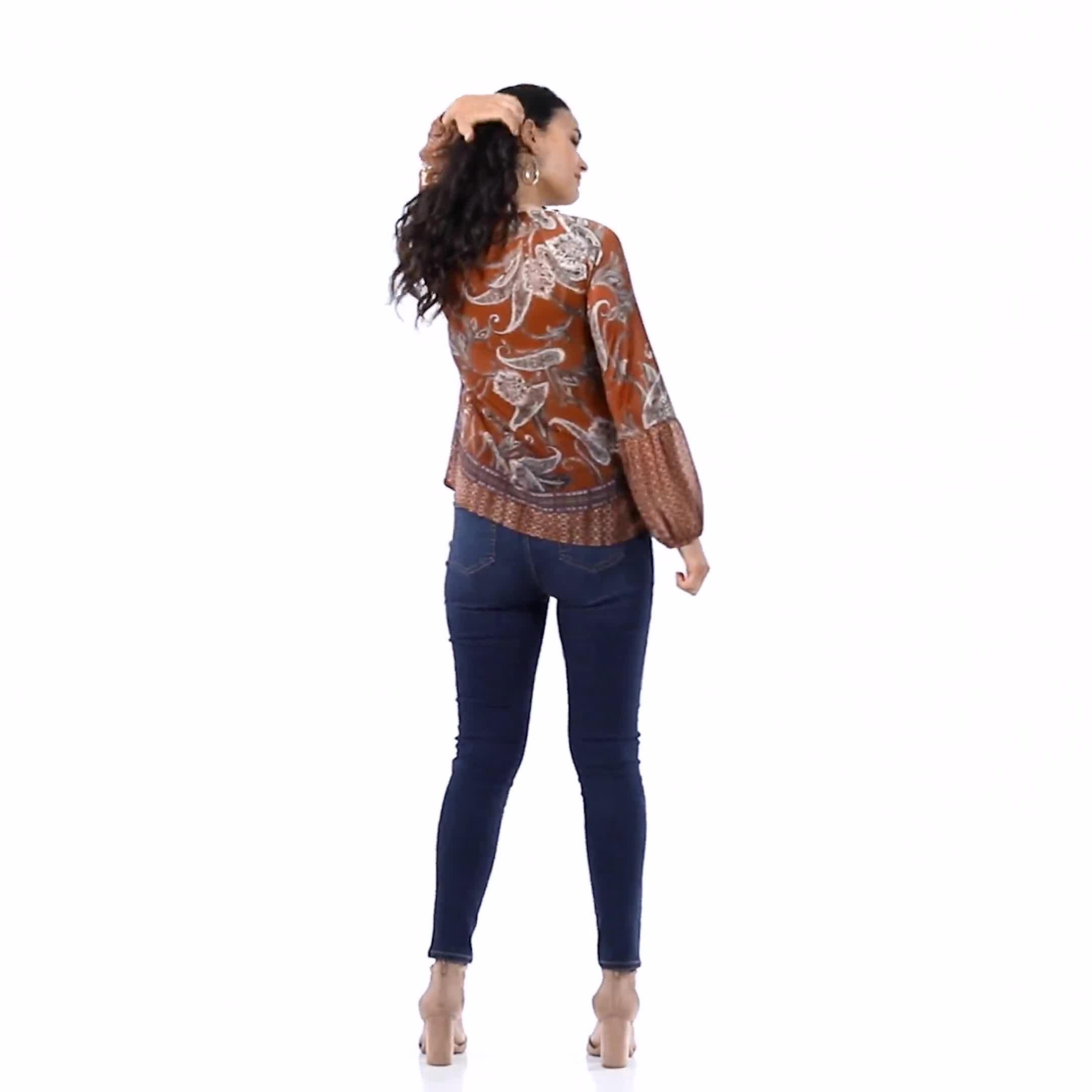 Westport Signature 5 Pocket Skinny Jean - Video