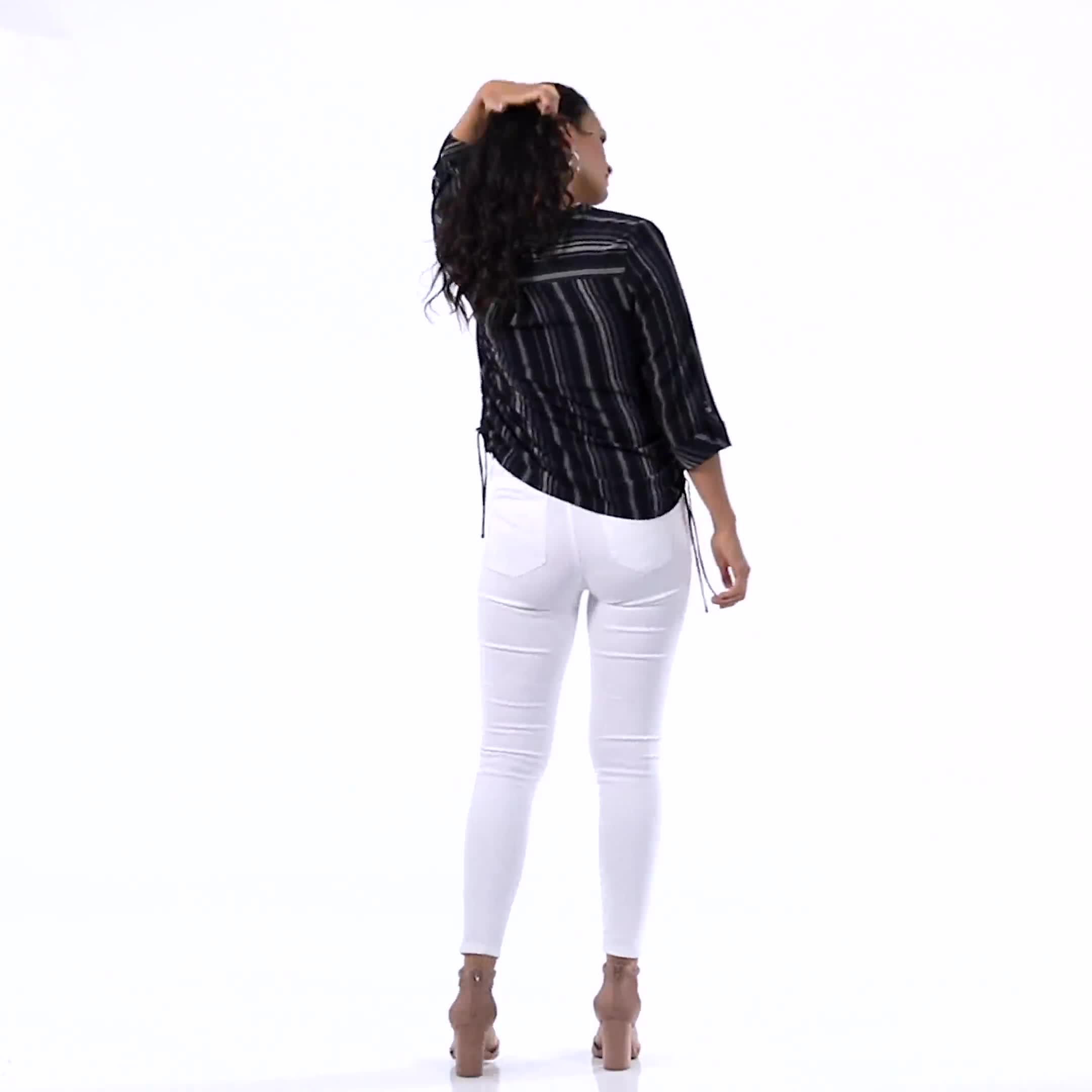 Mid Rise 5 Pocket Goddess Fit Solution Jeans - Video