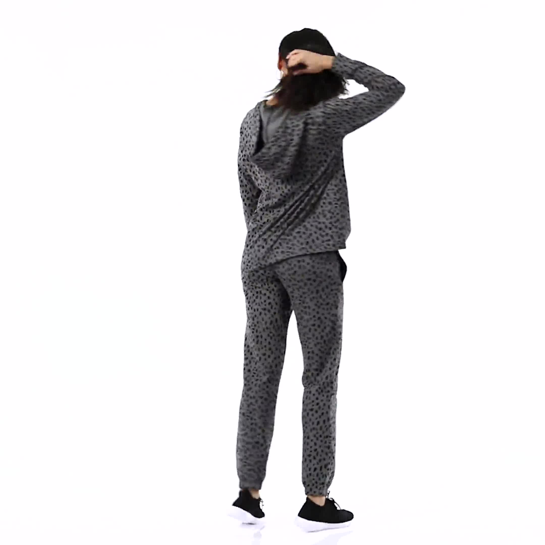 DB Sunday Animal French Terry Knit Jogger - Video