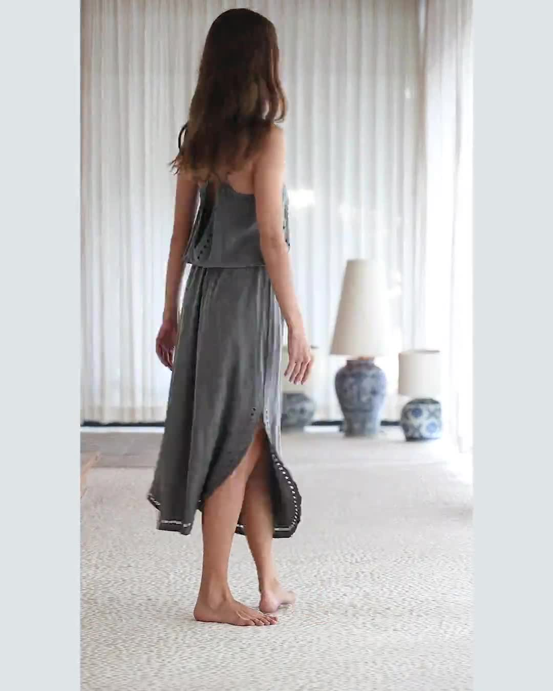 Lisa Midi Dress - Video
