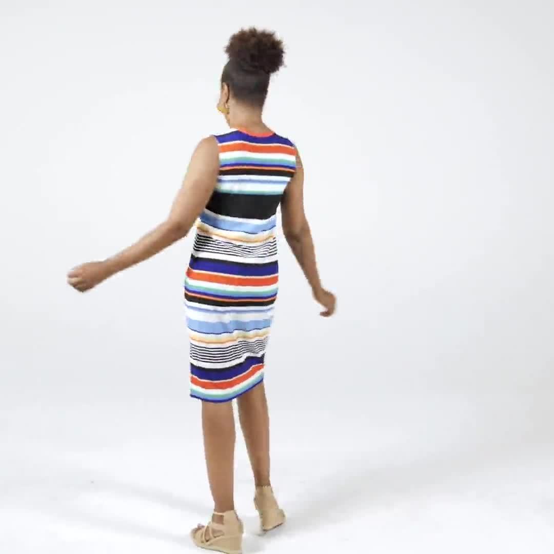 Stripe Dress - Video