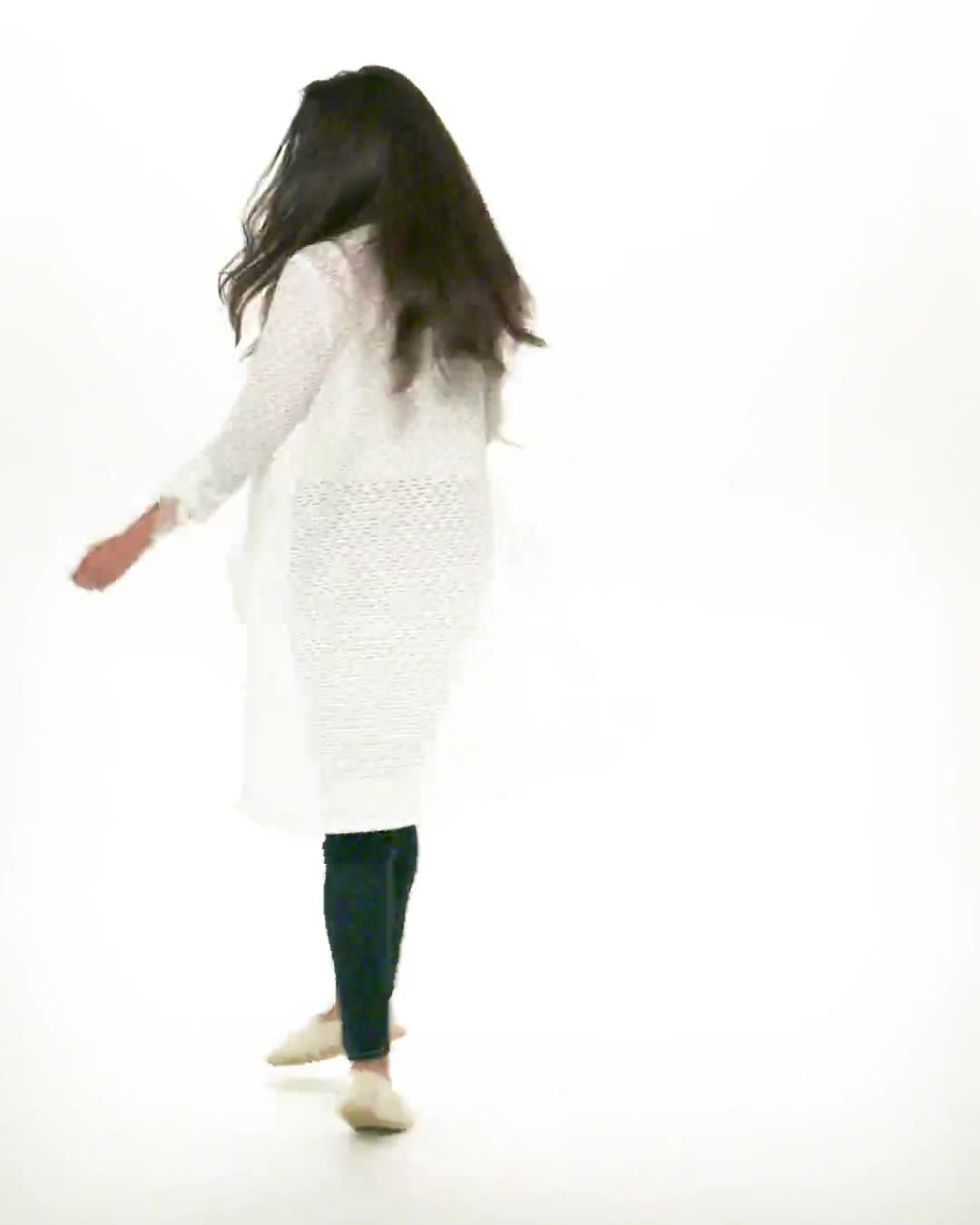 Shirred Sleeve 2 Pocket Duster - Video