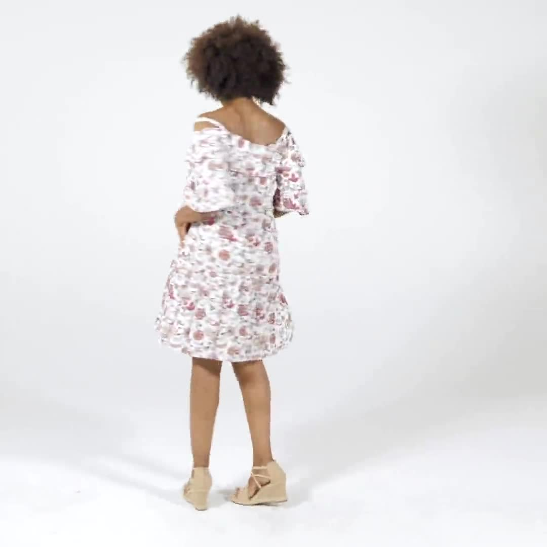 Floral Baby Doll Dress - Video