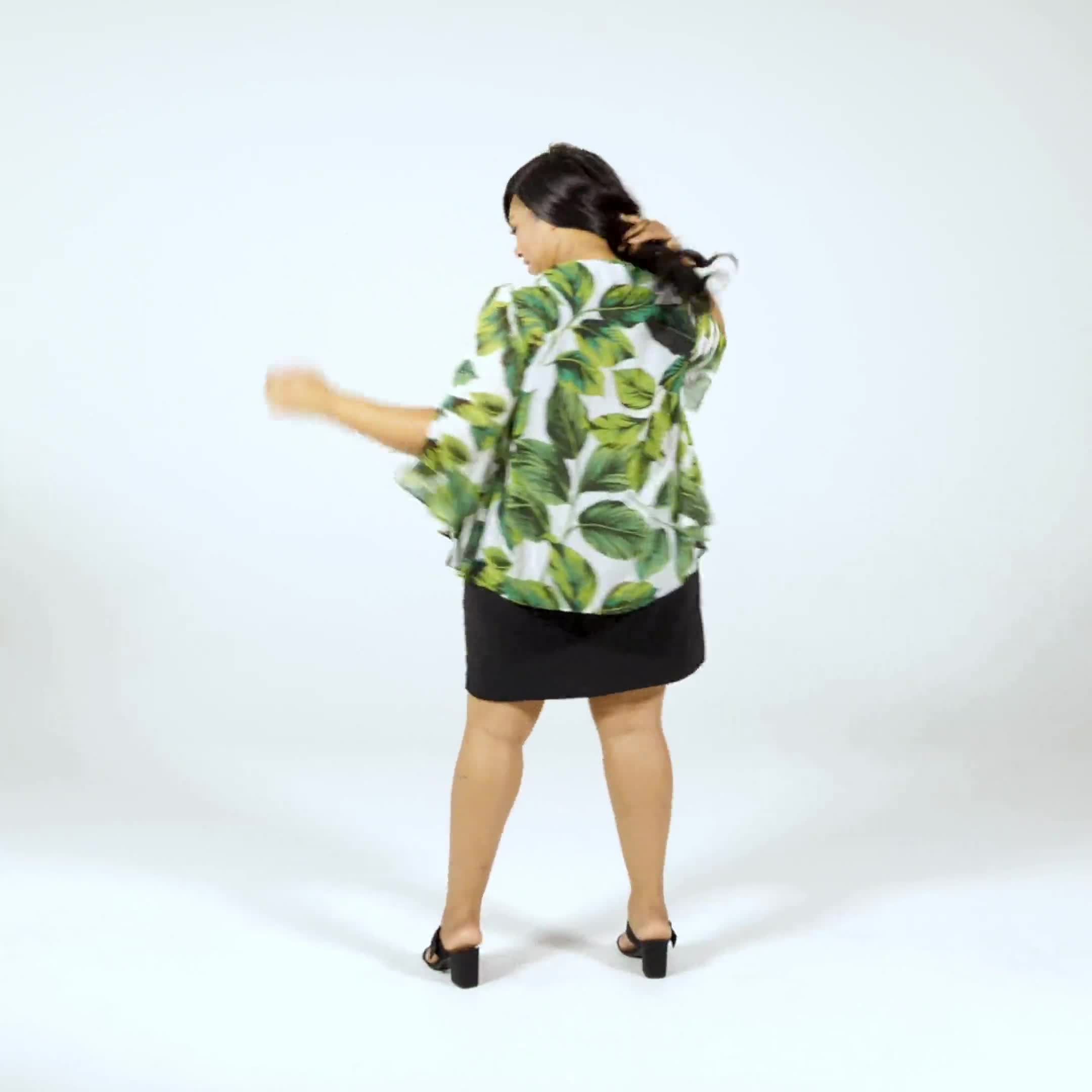 Fern Chiffon Jacket Dress - Video