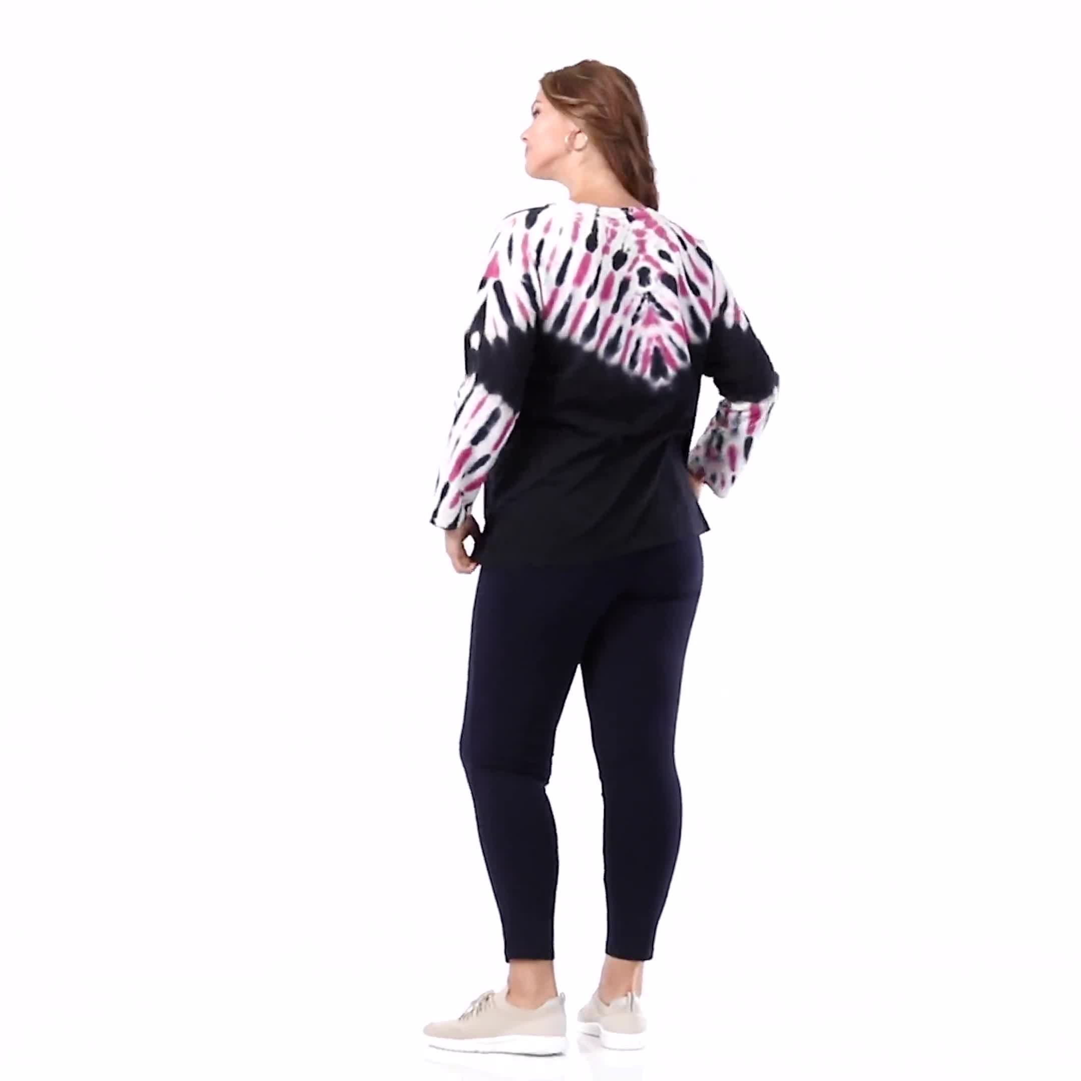 DB Sunday French Terry Tie Dye Knit Top - Video