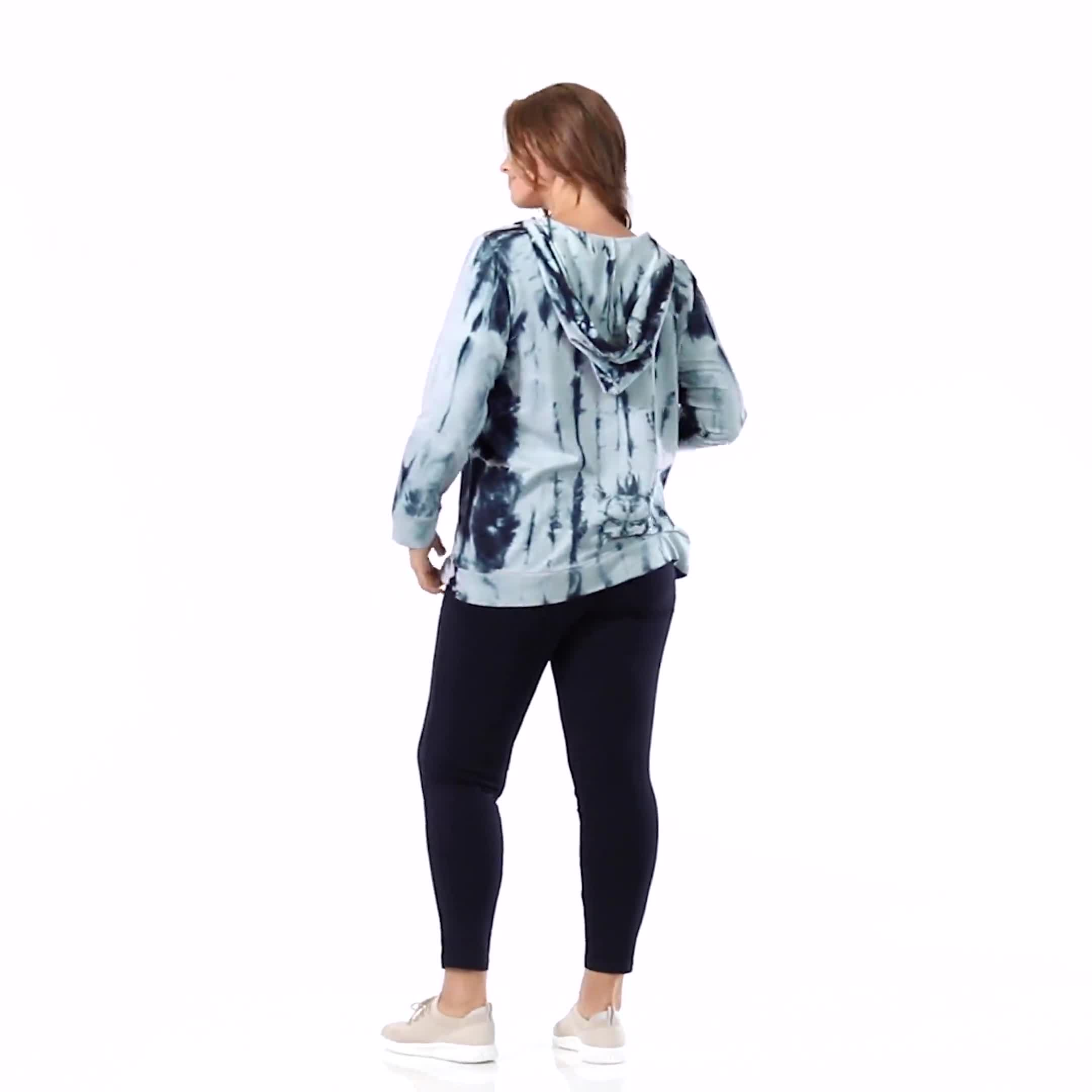 """Wine Me Over"" Tie Dye Hoodie - Video"
