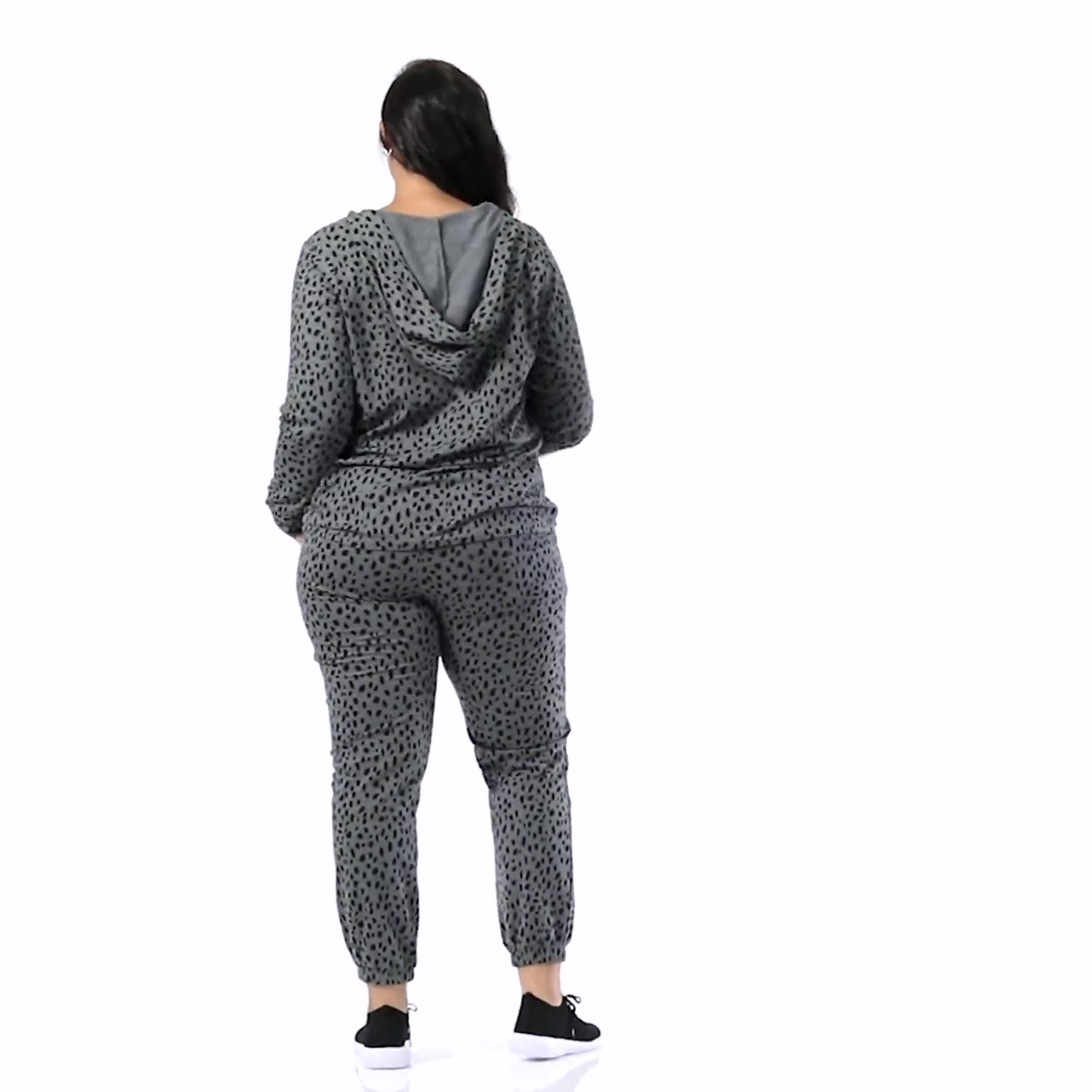 Animal French Terry Knit Jogger - Plus - Video