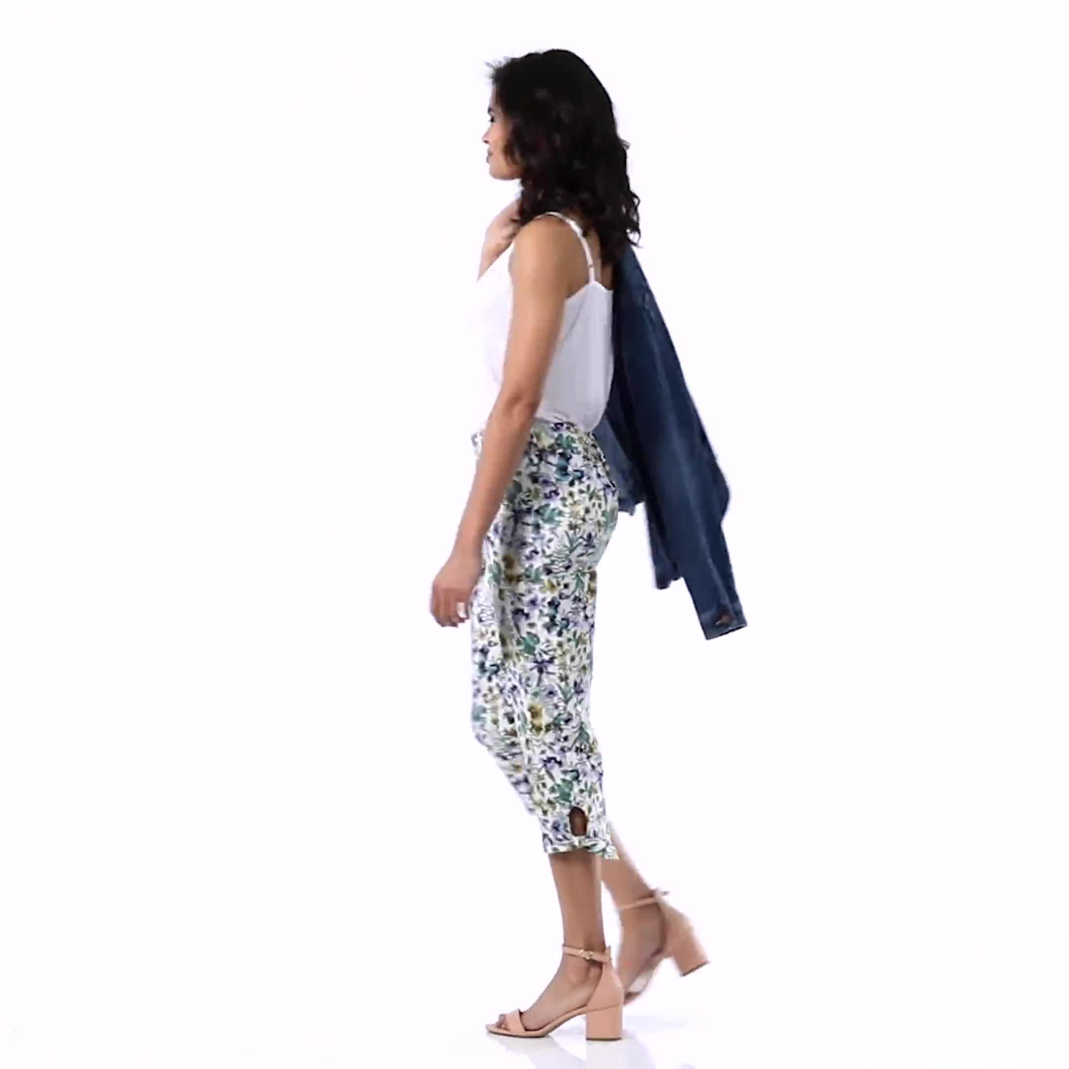 Lace Trim Rayon Spandex Cami - Video