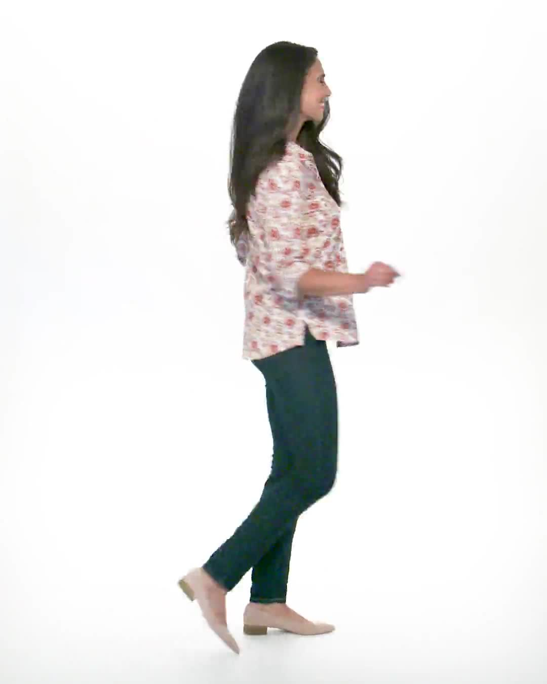 Daisy Print 3 Button Popover - Video