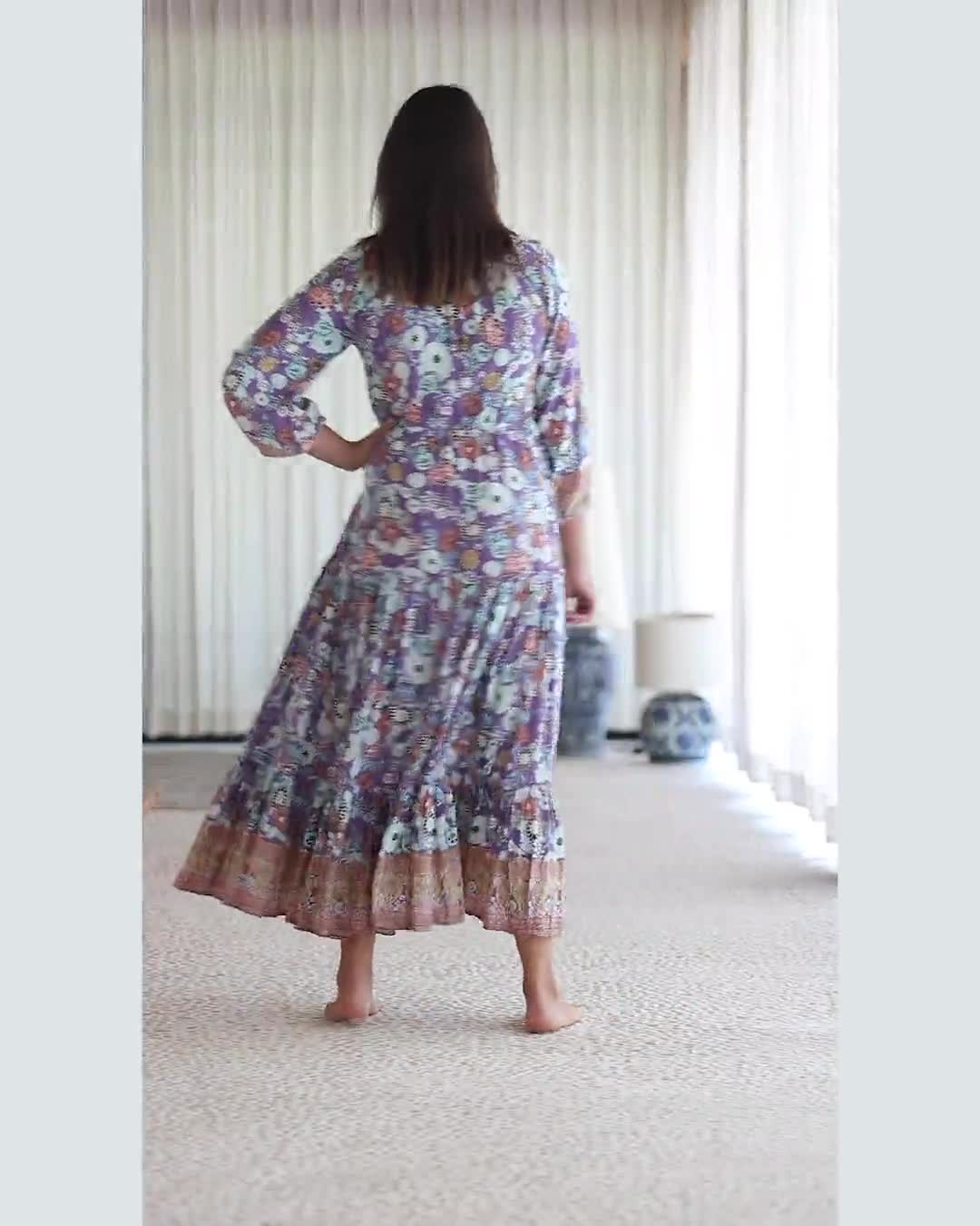 Lavender Prairie Dress - Video