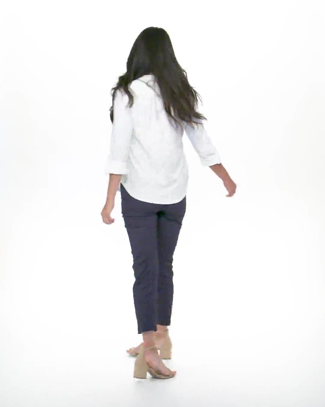 Eyelet Knit Pintuck Popover - Video