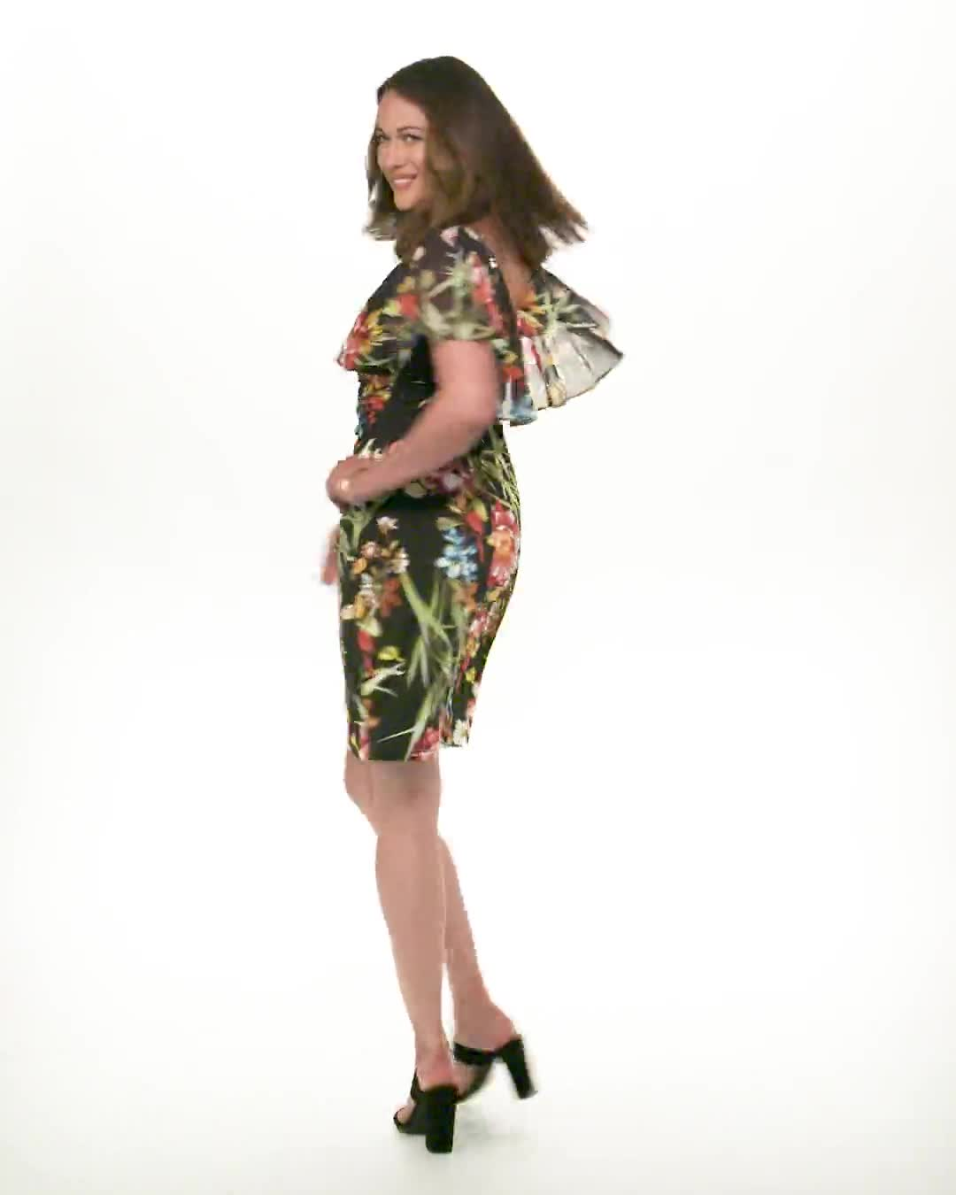 Amy  Floral Dress - Video