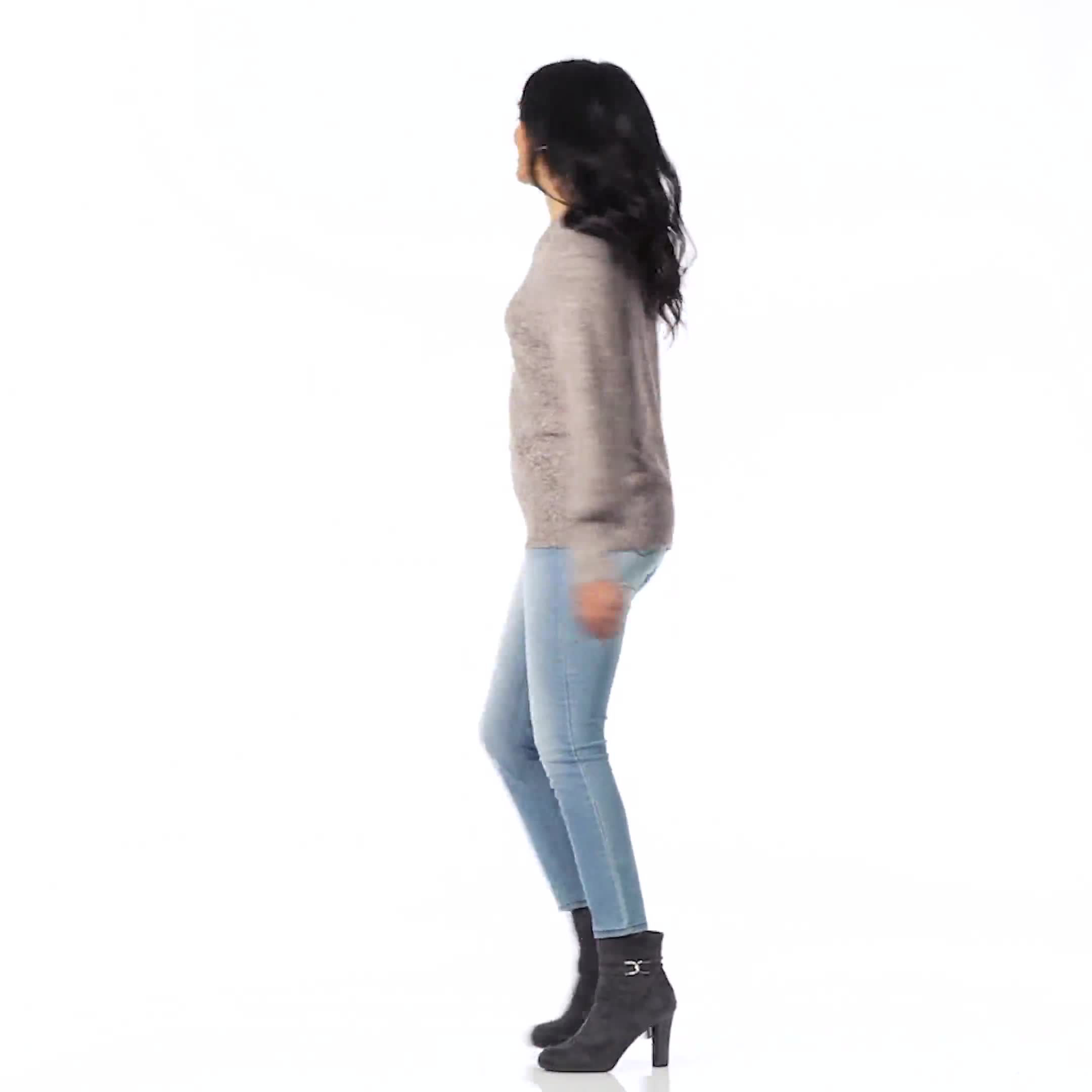 Westport Pointelle Sweater - Video