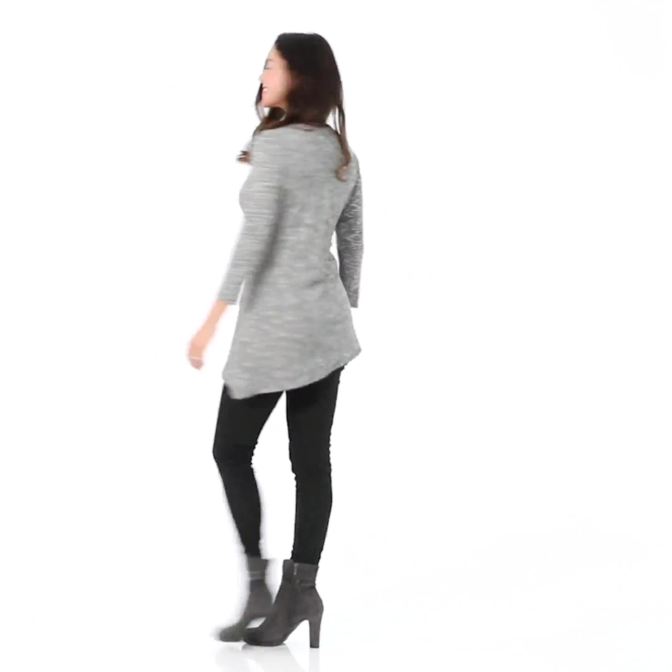 Westport Embellished Knit Tunic - Video