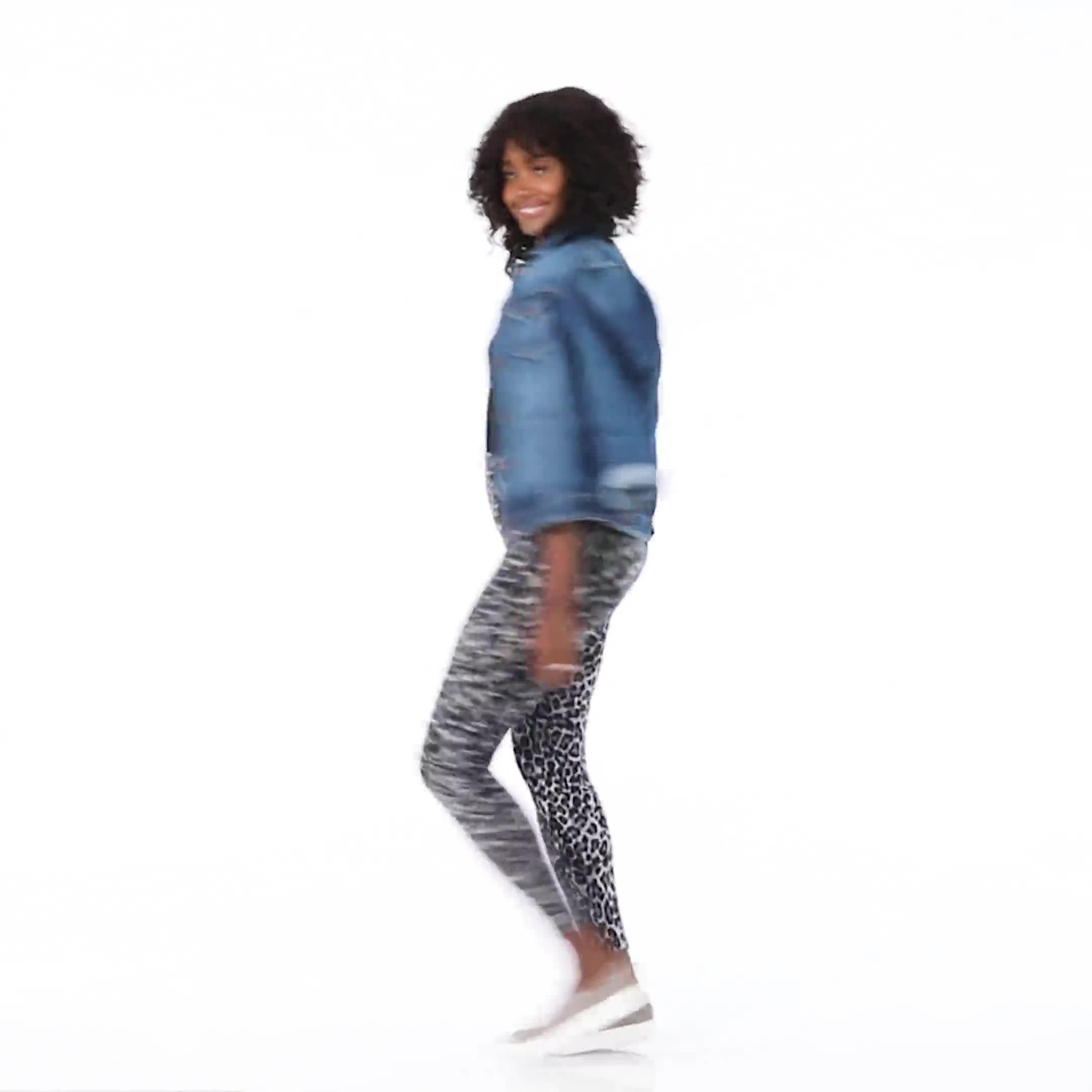 Elo Sportswear Animal Print Legging - Video