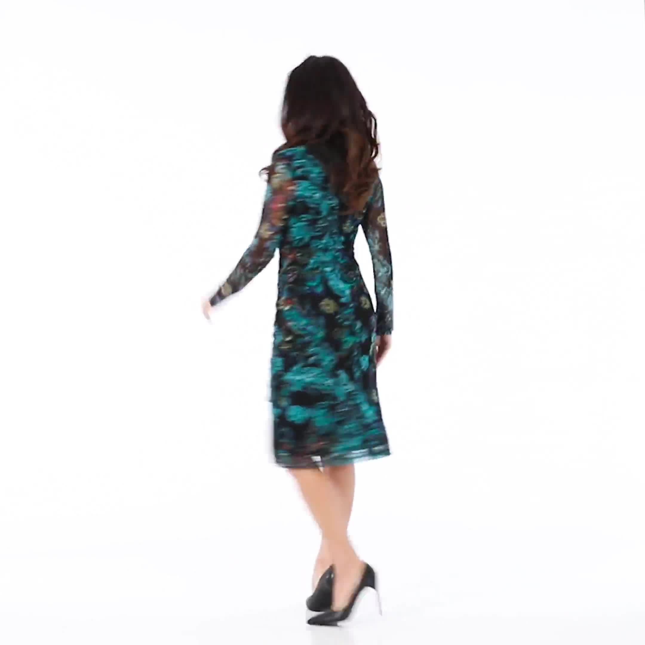 New Floral  Midi Dress - Video