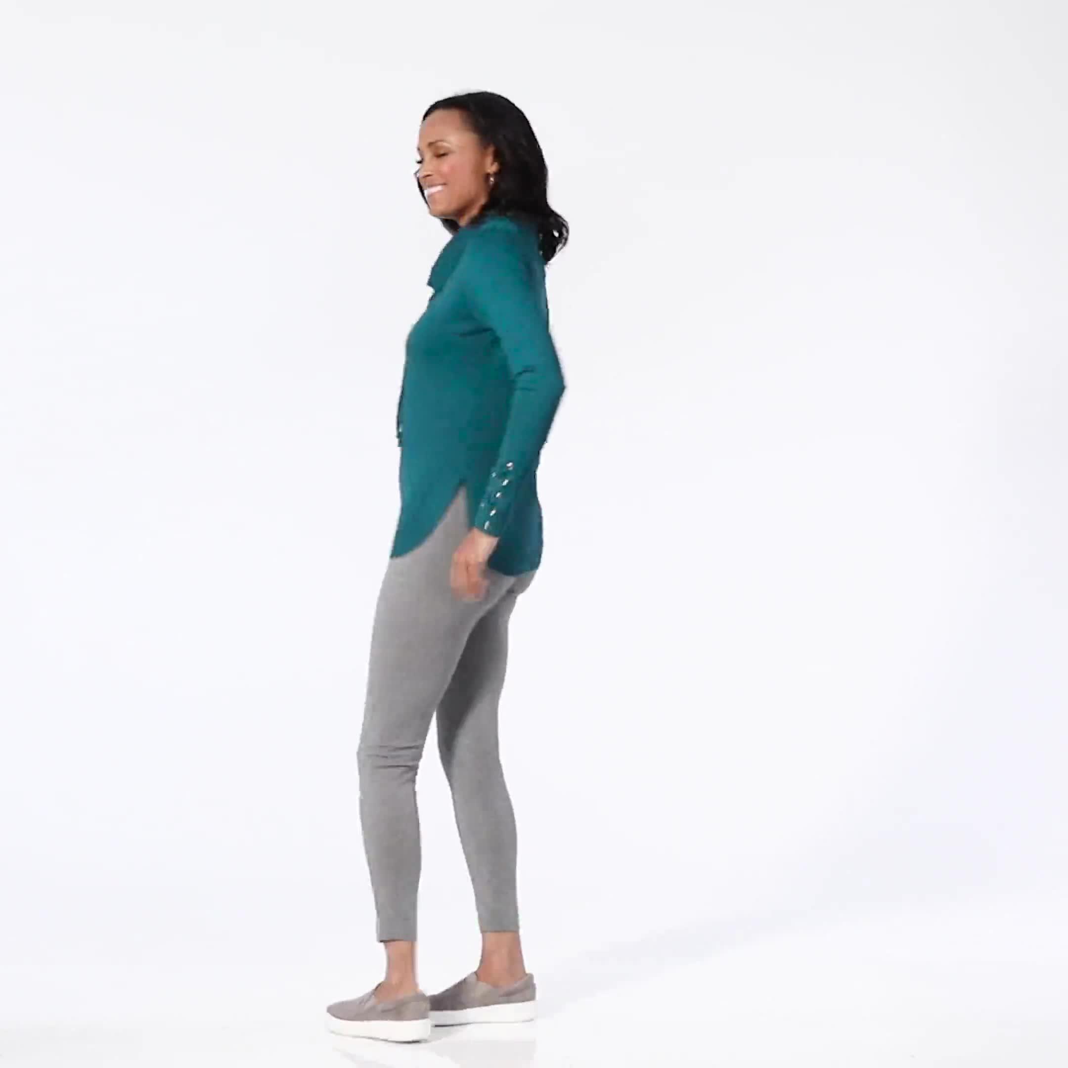 Westport Grommet Trim Pullover Sweater - Video