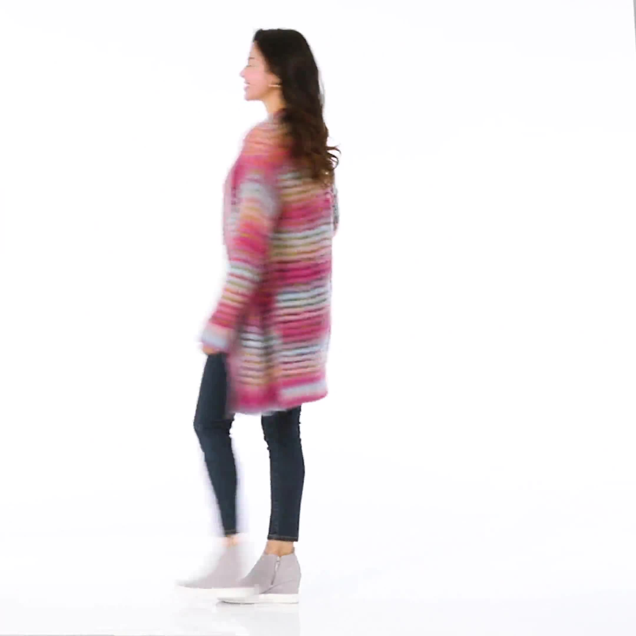 Westport Multi-Color Duster Cardigan - Video