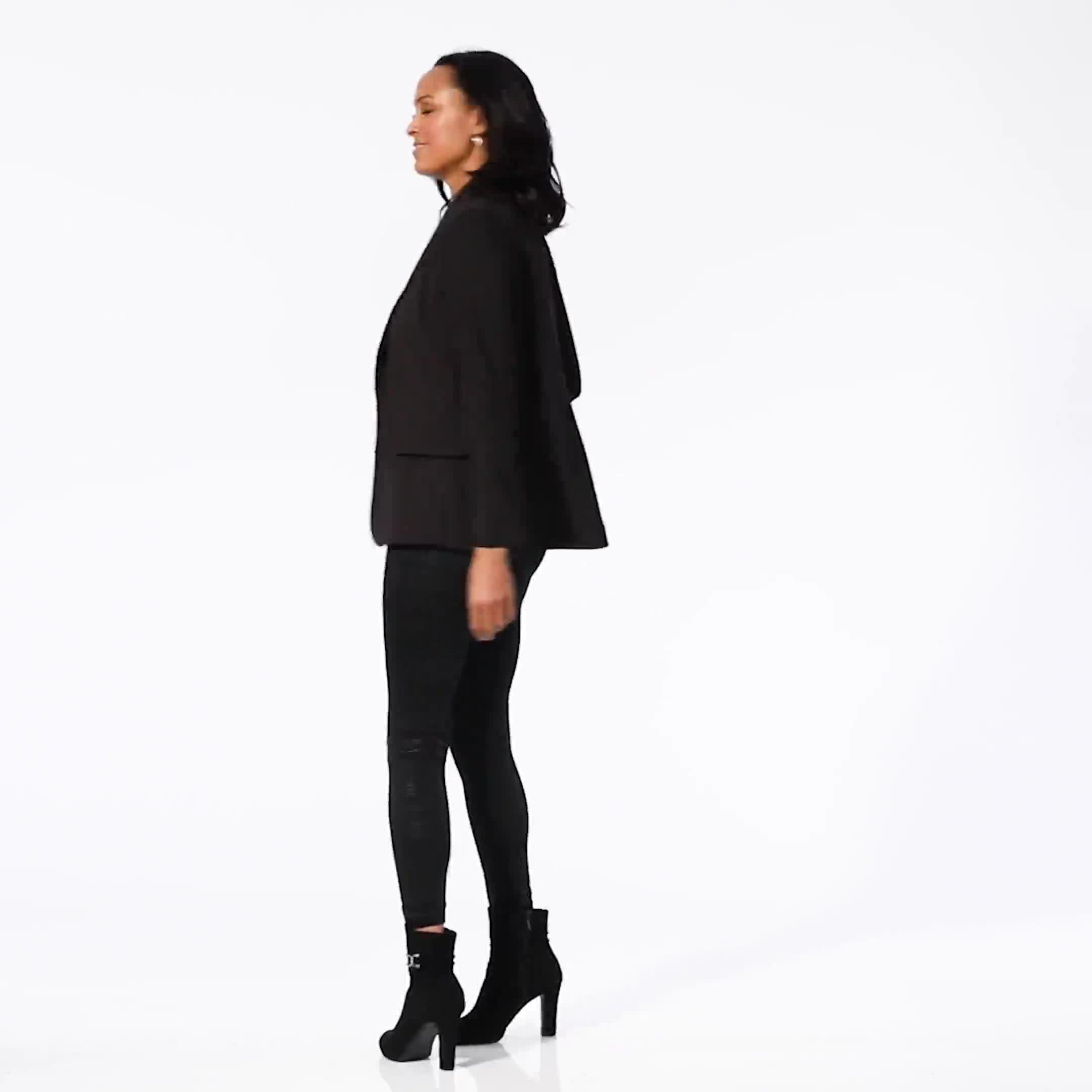 Elo Sportswear Black Plaid Legging - Video