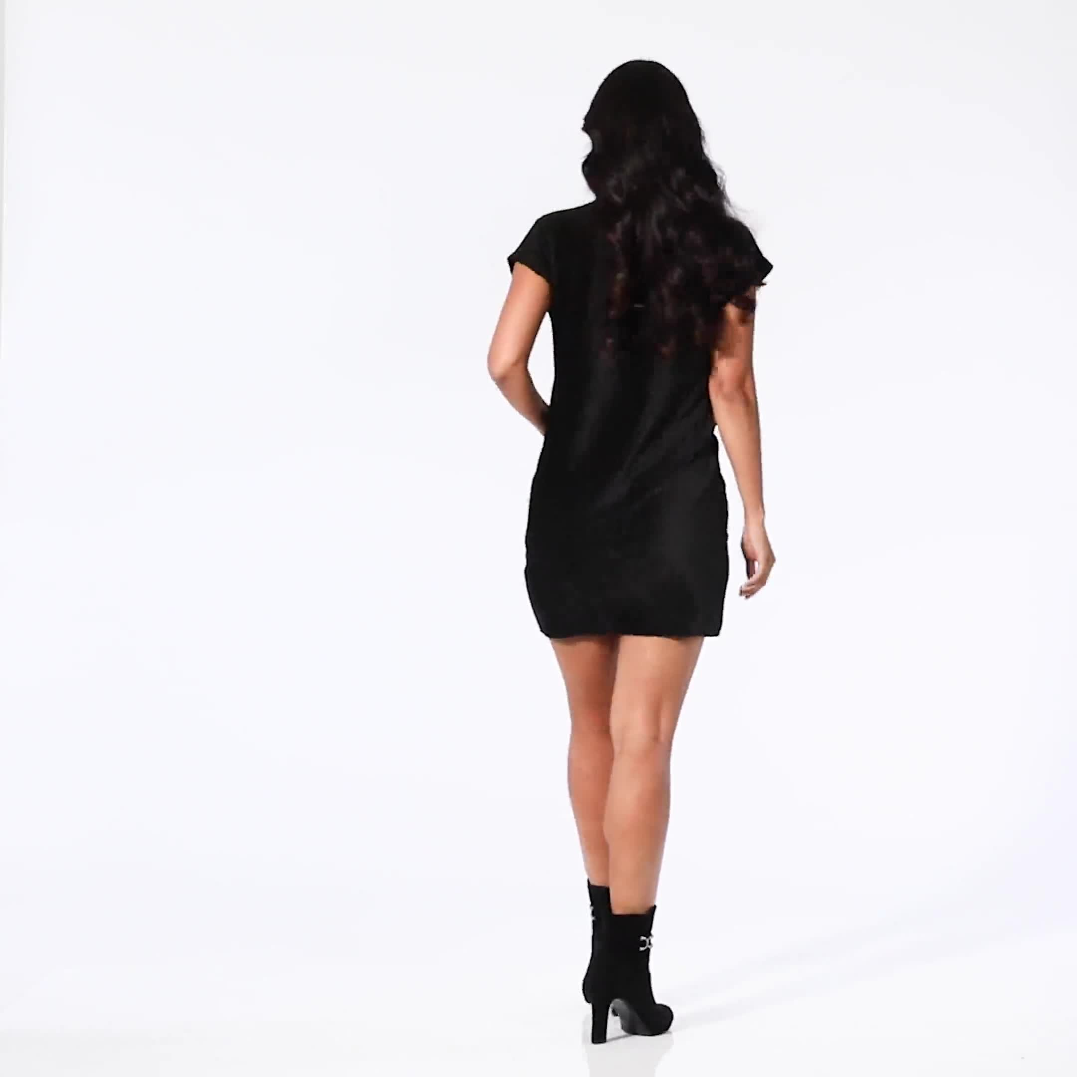 Patch Pocket Sheath Dress - Video