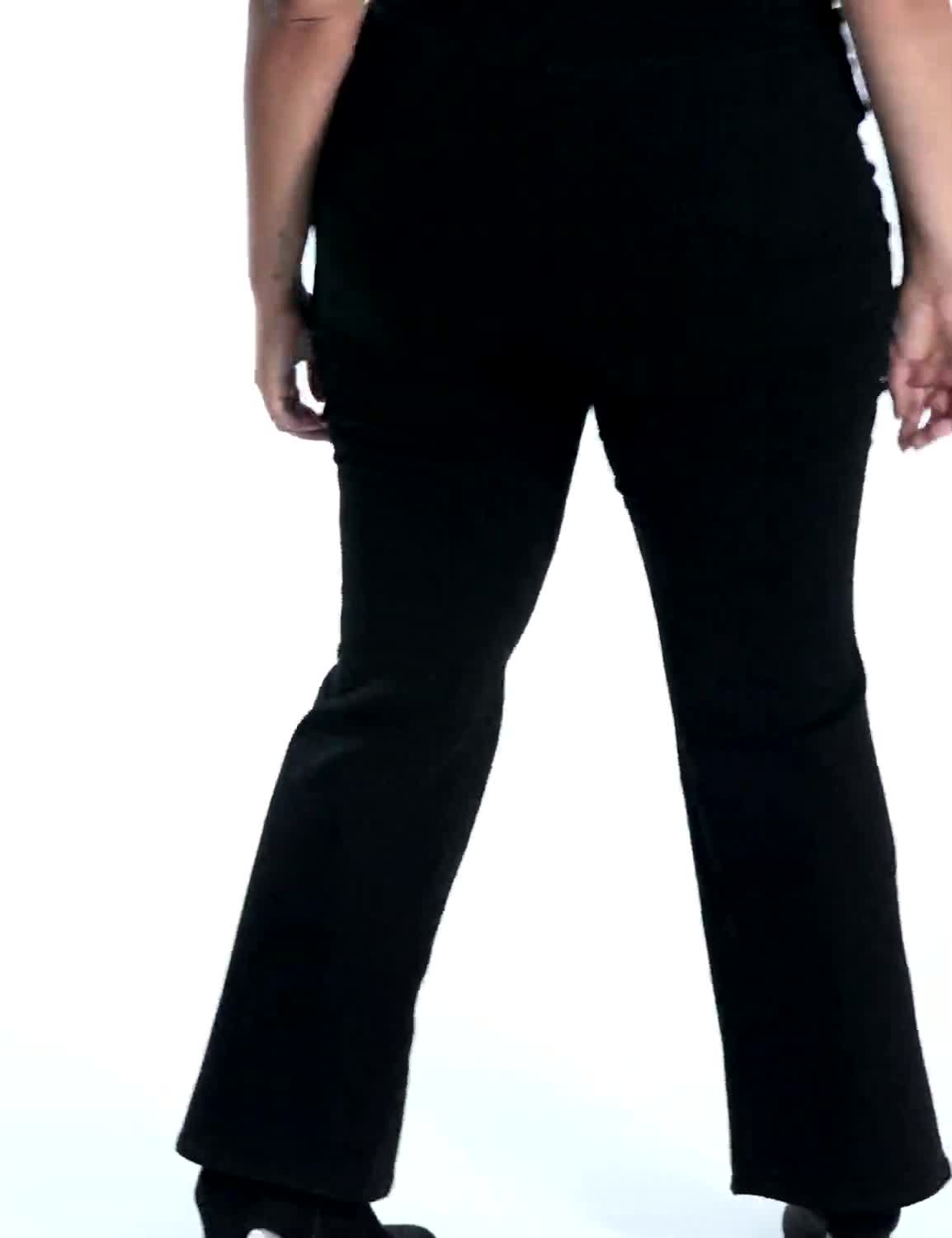 Plus Westport Signature 5 Pocket Bootcut Jean - Video