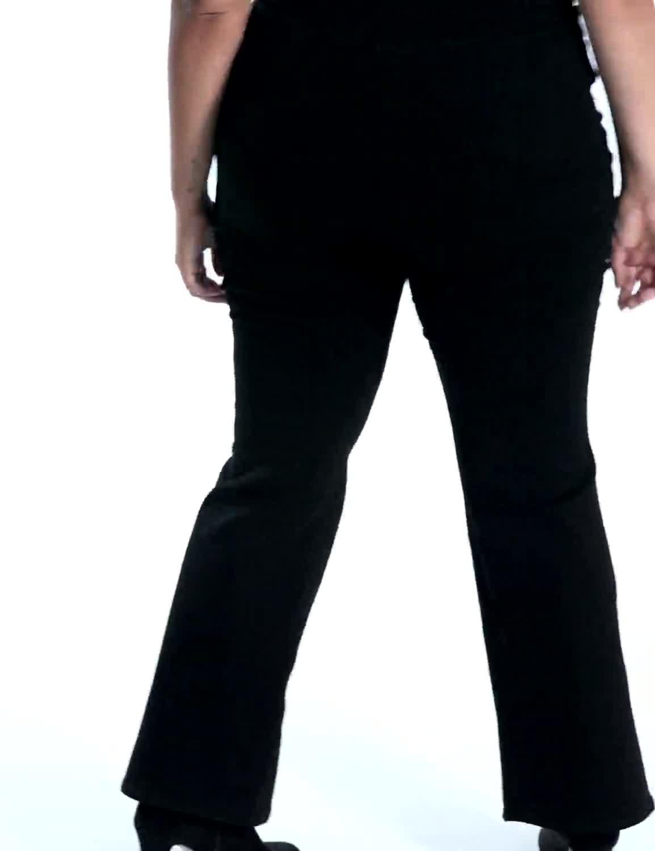 Plus Westport Signature Bootcut Denim Jean - Video