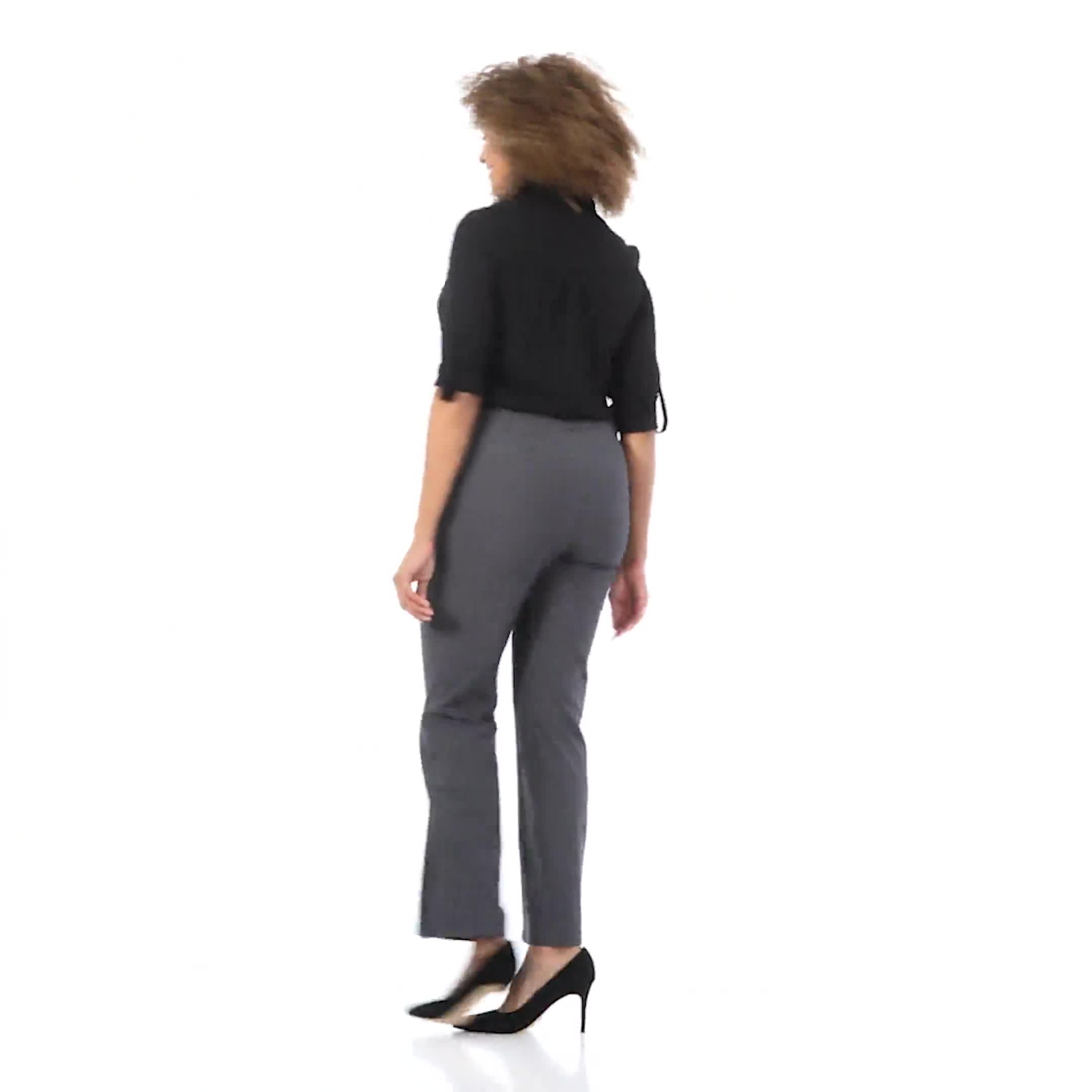 Roz & Ali  Secret Agent  Trouser With Cateye  Pocket  & Zipper - Video