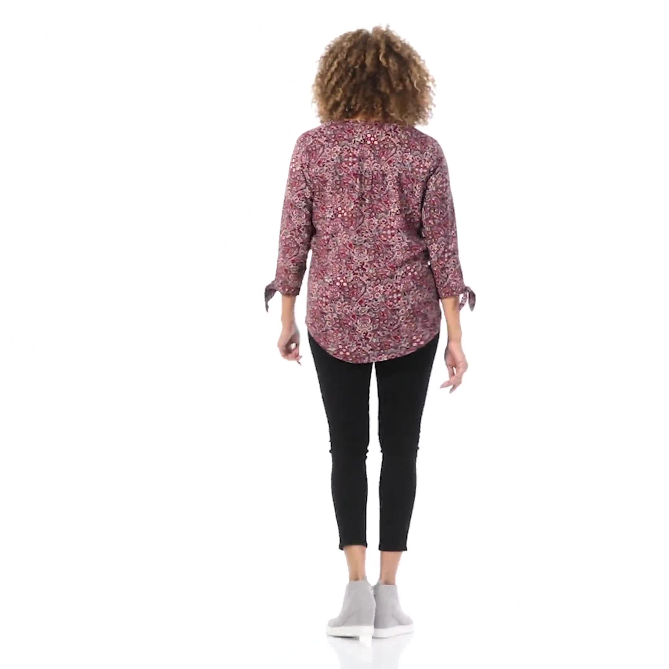 Westport Bohemian Pintuck Popover - Video