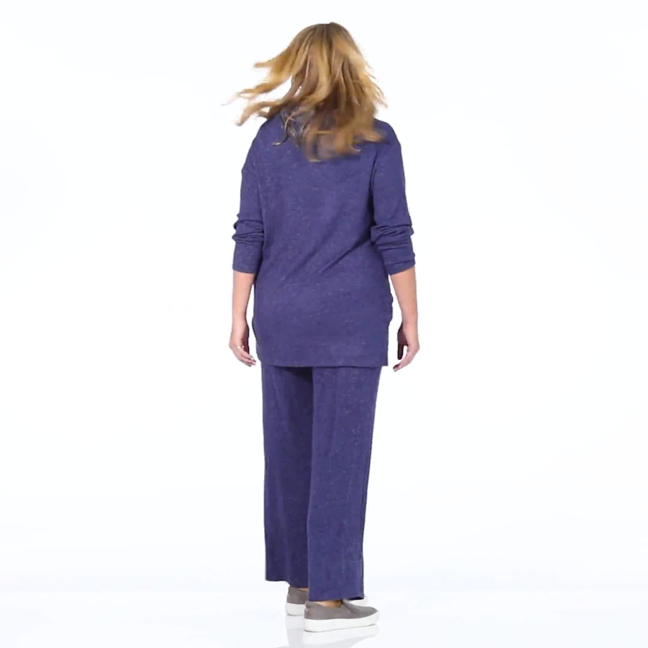DB Sunday Hacci Drawstring Knit Pant - Plus - Video