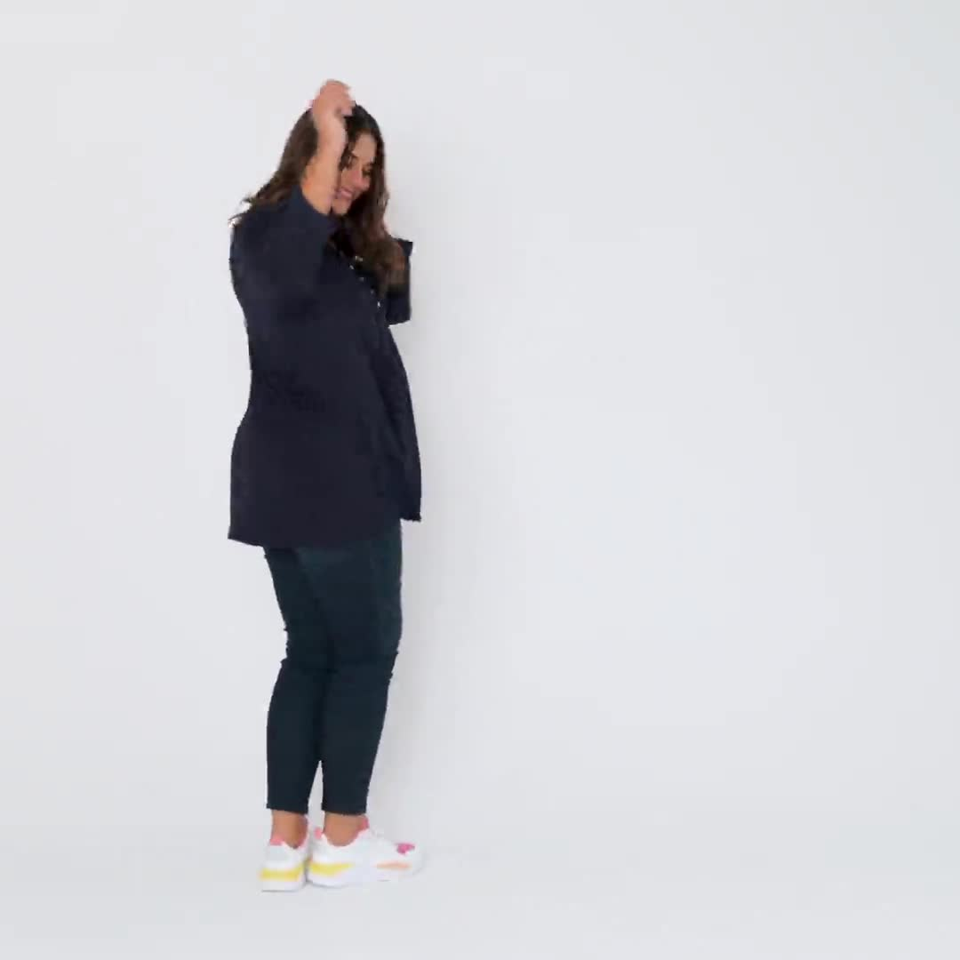Roz & Ali Diamond Stitch Popover - Plus - Video