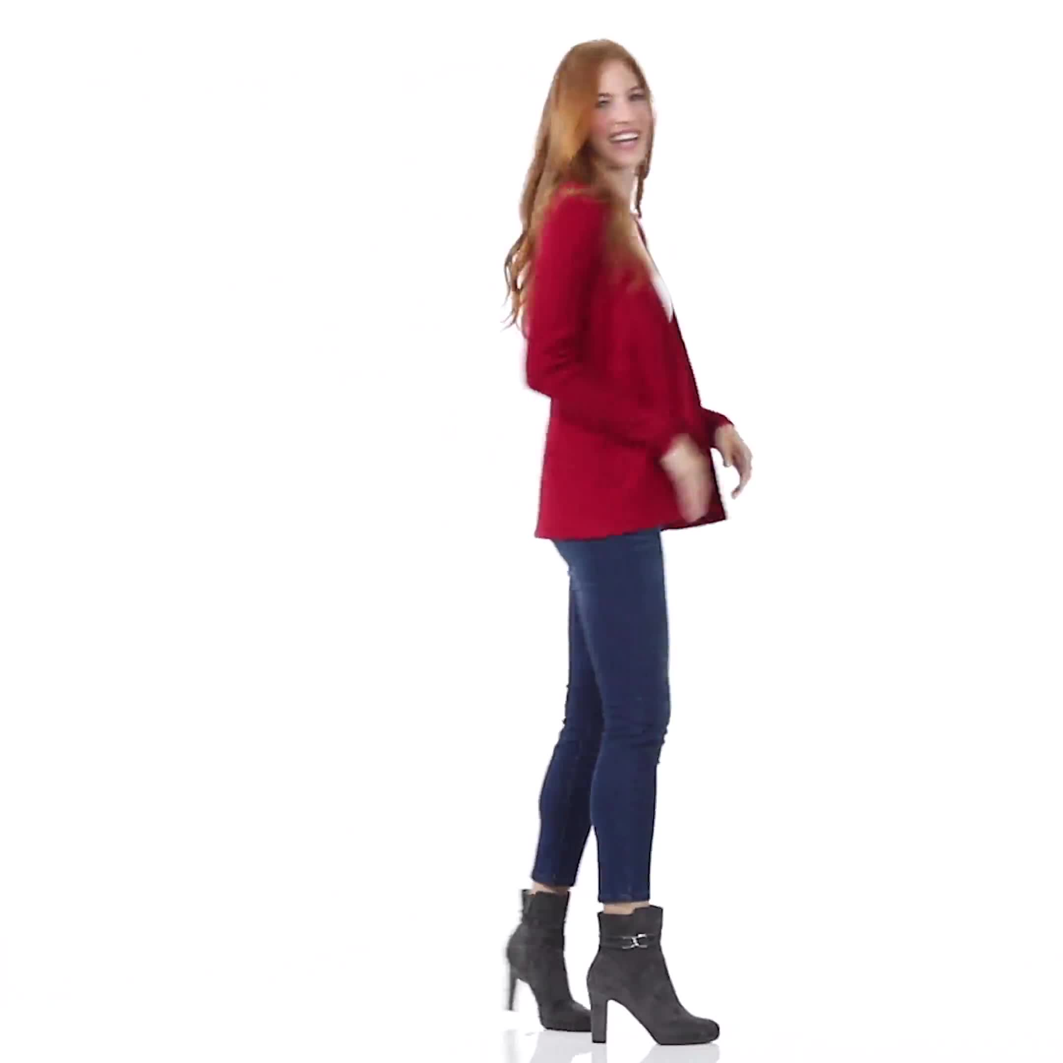 Roz & Ali Everyday Cardigan - Video